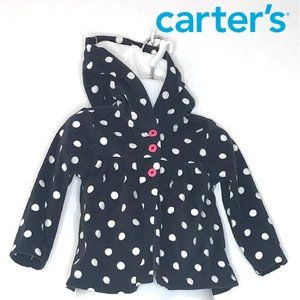 Carter's Polka Dot Fleece Hoodie Kids
